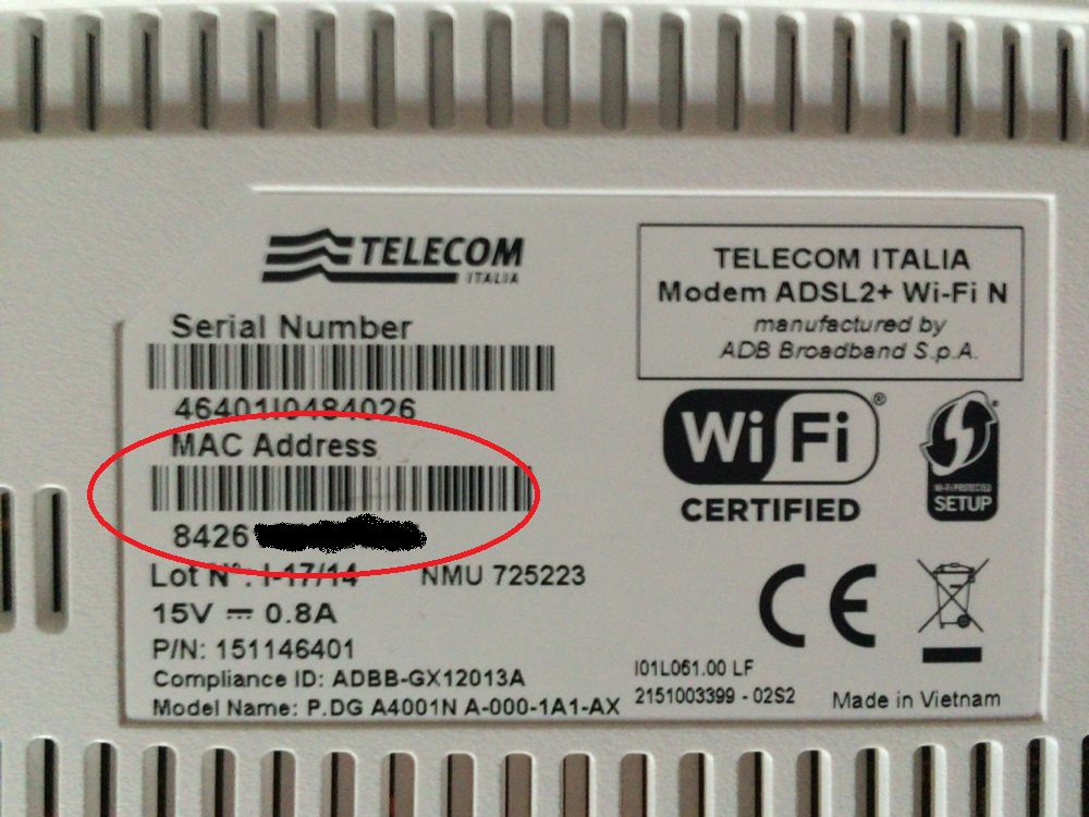 how to set static iup address on modem